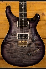 PRS Custom 24/08 Wood Library Charcoal Purpleburst Used