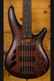 Ibanez SR30TH5-NNF 5 String Bass Natural Browned Burst Flat