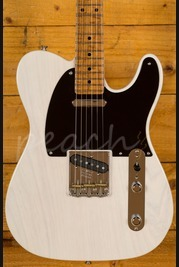 Fender Custom Shop 52 Tele NOS White Blonde AA Flame Neck