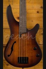 Ibanez SRH500-DEF 4 String Bass Dragon Eye Burst Flat