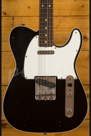 Fender Custom Shop 62 Tele Custom Journeyman Relic Black