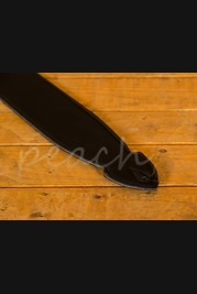 "Leathergraft 4"" Softy Guitar Strap - Black"