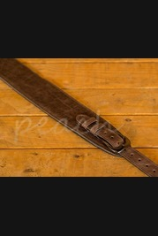 Leathergraft Buckle Guitar Strap - Brown