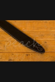 Leathergraft Pro Deluxe Reversable Guitar Strap - Brown Suede