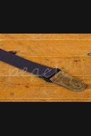 Leathergraft Cotton Web Guitar Strap - Blue