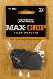 Jim Dunlop Max Grip Nylon Standard .73mm 12 Pack