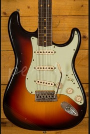 Fender Custom Shop 62 Strat Active Journeyman Relic Strat 3TS