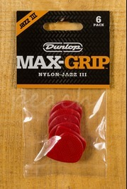 Jim Dunlop Max-Grip Jazz III 6 pack