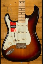 Fender American Pro Strat Maple Neck 3 Tone Sunburst Left Handed