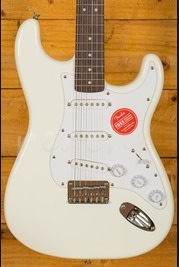 Squier Bullet Stratocaster Hard Tail, Rosewood Fingerboard, Arctic White