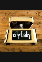 Jim Dunlop 50th Anniversary Gold Plated Cry Baby Limited Edition