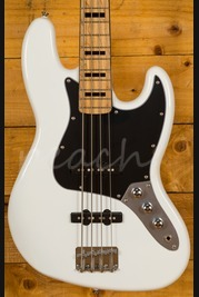 Squier Vintage Modified Jazz Bass 70's Olympic White Maple Neck