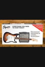 Squier Strat Pack Short Scale, Frontman 10G Guitar Amplifier