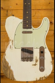 Fender Custom Shop NAMM 2017 Ltd 63 Tele Aged Olympic White Heavy Relic