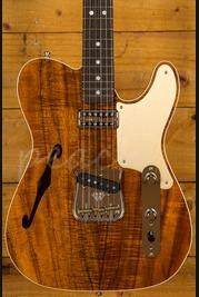 Fender Custom Shop Artisan Tele - Caballo Tono Ligero - Koa
