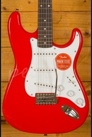 Squier Affinity Strat Race Red