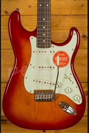 Squier Standard Strat Limited Edition Cherry Sunburst