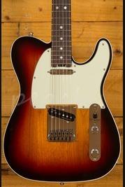 Fender American Elite Tele Rosewood 3 Tone Sunburst Used