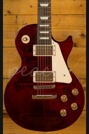 Gibson 2016 Les Paul Studio - Wine Red - Chrome Hardware