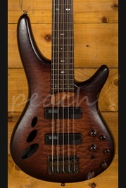 Ibanez SR30TH5-NNF 5 String Bass Natural Browned Burst Flat
