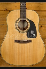 Epiphone PRO-1 Plus Natural Acoustic Guitar