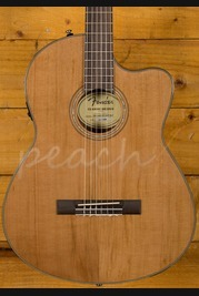 Fender CN-140SCE Natural Electro Cutaway with Hard case