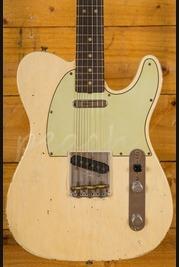 Fender CS Masterbuilt Jason Smith 63 Tele Relic Vintage Blonde