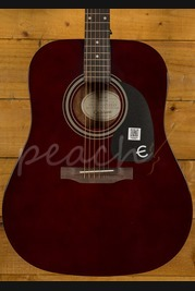 Epiphone Pro-1 Acoustic Guitar Wine Red