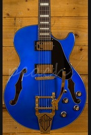 Ibanez AGS73T-SLB Artcore series in Starlight Blue