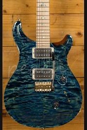 PRS Custom 24 River Blue 10 Top Maple Neck