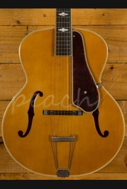 Epiphone De Luxe Classic F Hole Masterbuilt in Vintage Natural
