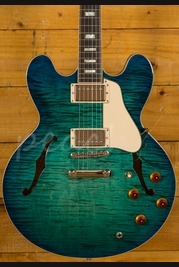 Gibson Memphis 2018 ES-335 Figured Aquamarine