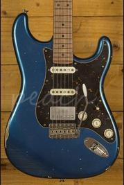 Xotic California Classic XSC-2 Dark Lake Placid Blue Medium Aged Matching h/s