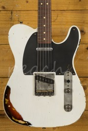 LSL T Bone Vintage White Over Sunburst with Rosewood neck/board