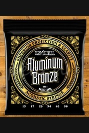 Ernie Ball - 13-56 Aluminium Bronze Medium