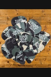 Ernie Ball Camouflage Picks x 12 Heavy