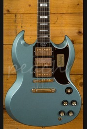 Gibson Custom SG M2M Pelham Blue Lightly Aged