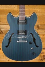 Ibanez 2018 Artcore AS53-Transparent Blue Flat