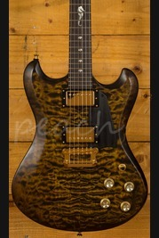 Knaggs Influence Honga T1 Quilt Sunflower with Gold hardware