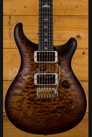 PRS Custom 24 Wood Library Goldburst Satin