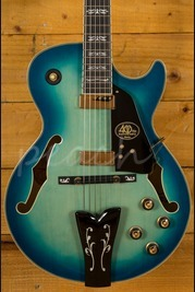 Ibanez George Benson 40th Limited Edition Jet Blue