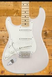 Fender American Original '50s Strat - Maple Board, White Blonde, Left Handed