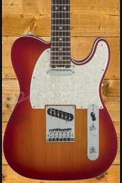 Fender American Elite Telecaster Rosewood Fingerboard Aged Cherry Burst