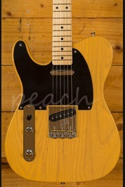 Fender American Original '50s Telecaster - Maple Board, Butterscotch Blonde, Left Handed