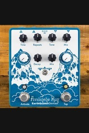 EarthQuaker Devices - Avalanche Run V2 - Stereo reverb and delay