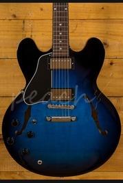 Gibson Memphis 2018 ES-335 Dot Blues Burst Left Handed
