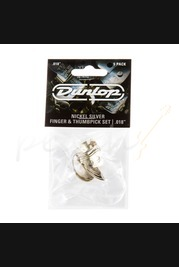Jim Dunlop Nickel Silver Finger and Thumb Picks 33P