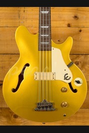 Epiphone Jack Casady Signature Bass Gold top Used