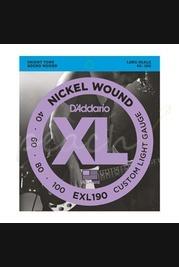 D'addario - 40-100 Custom Light Long Scale Bass