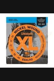 D'addario - 10-46 Regular Light Double BallEnd
